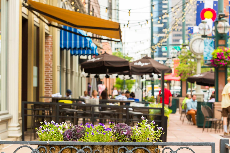 denver outdoor dining