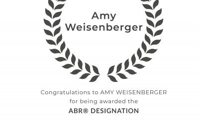 Amy Weisenberger Awarded the Accredited Buyer's Representative Designation