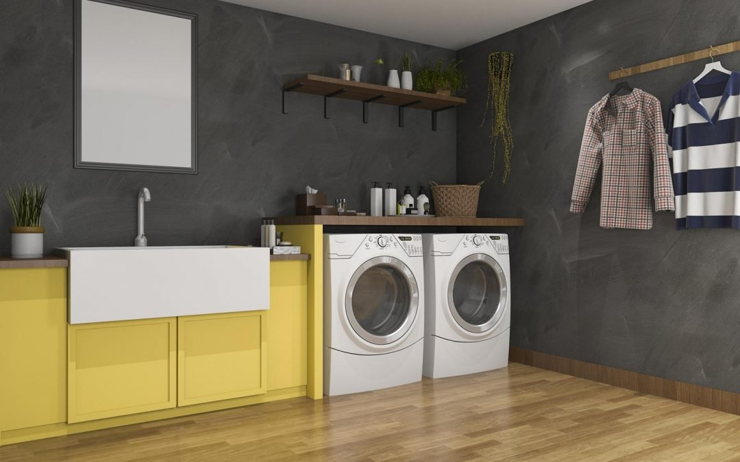 How to transform your laundry room from dingy to delightful