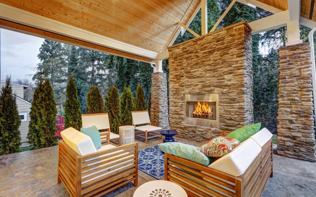 Outdoor kitchens, cottages… and other backyard living trends