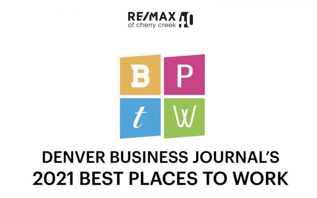 RE/MAX of Cherry Creek Recognized as one of the Best Places to Work