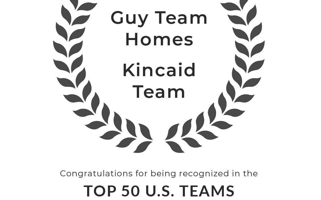 Guy Team Homes + The Kincaid Team Earn RE/MAX Top 50 Team Ranking