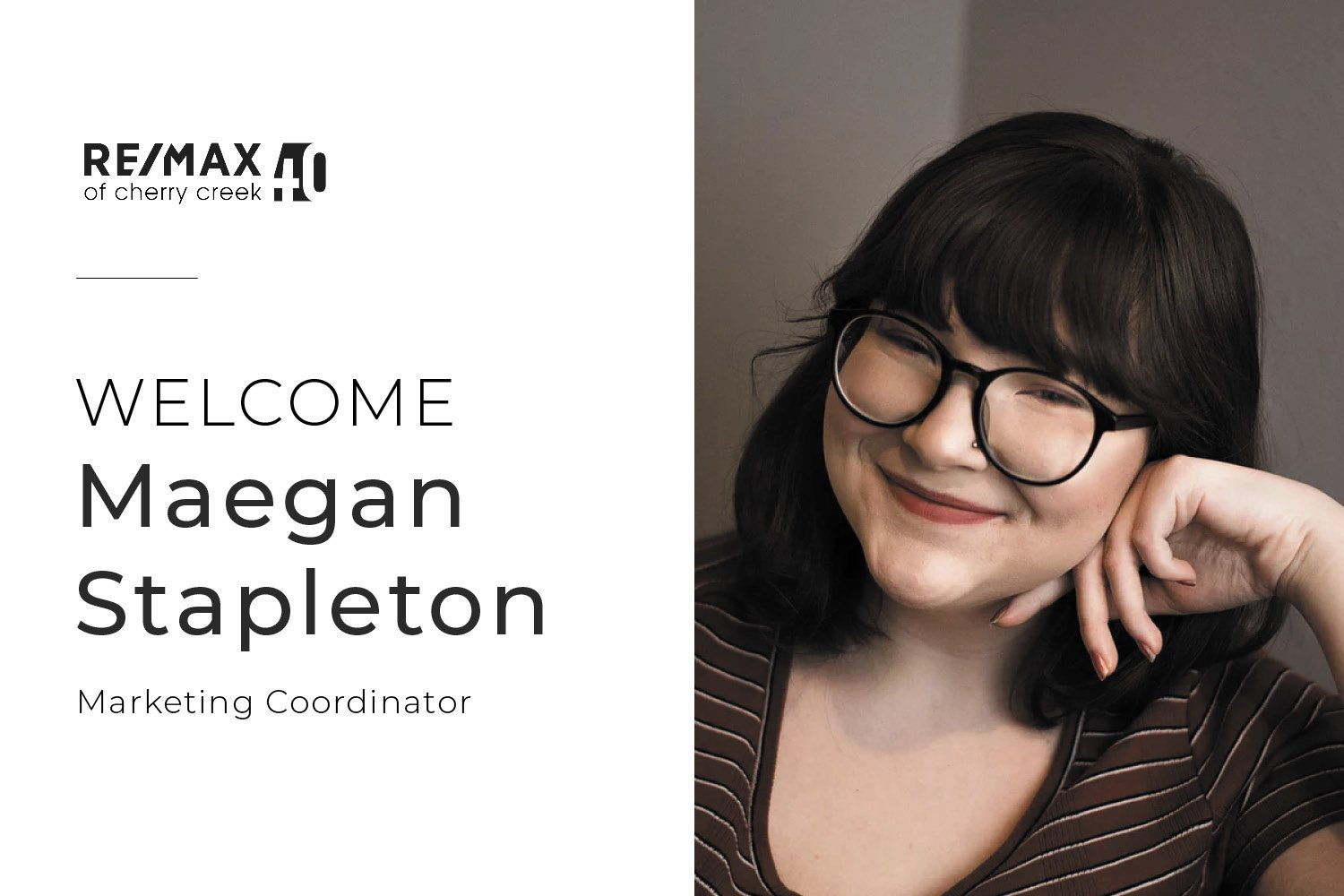 welcome maegan graphic