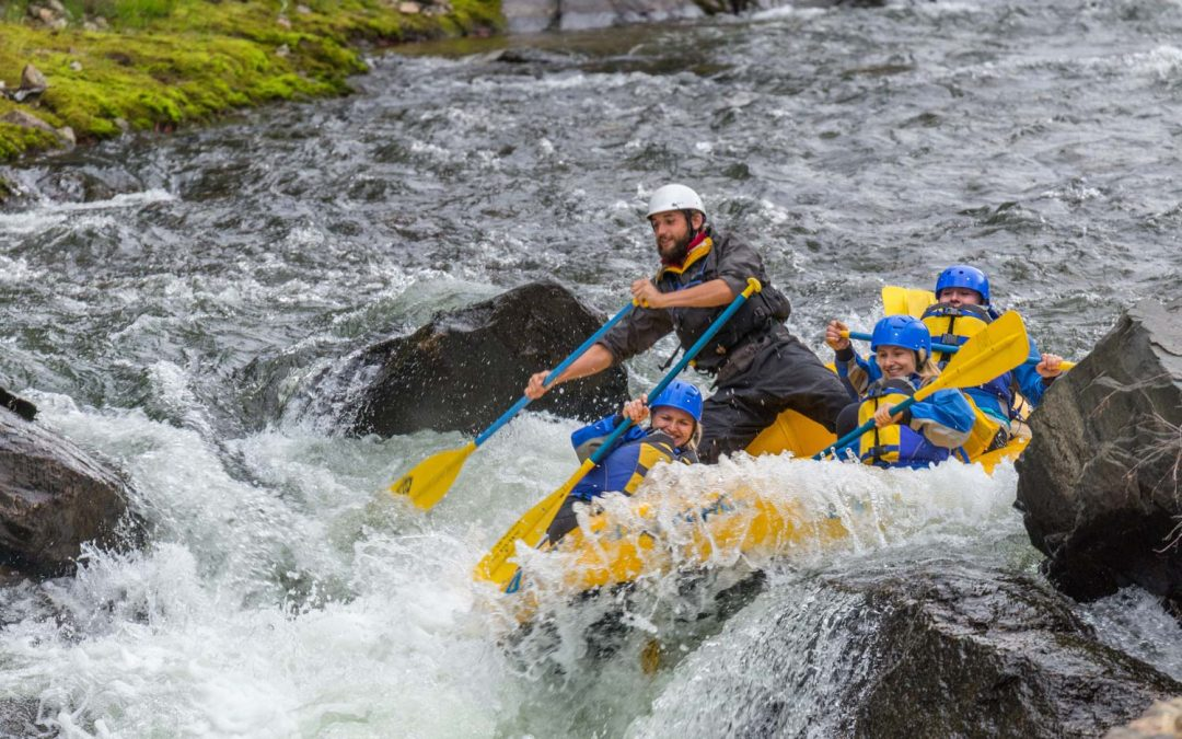 Looking for adventure? Take a whitewater rafting ride